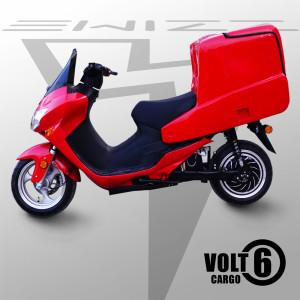 Red Volt Cargo electric scooter