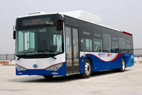 MyCiti BYD electric bus